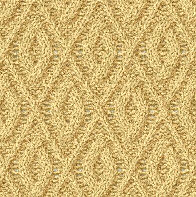 Рельефные узоры спицами со схемами. Образцы узоров для вязания на спицах |