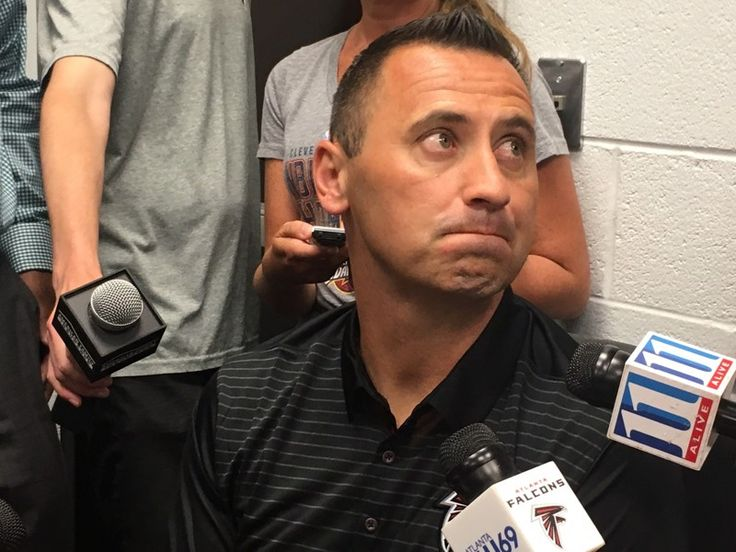 Part I: What Falcons OC Steve Sarkisian had to say - Atlanta Journal Constitution