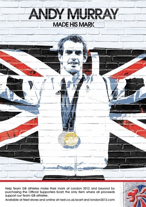 Andy Murray Team GB Made his mark