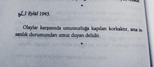 Defterler II, Albert Camus