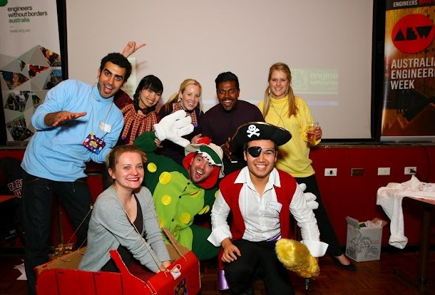 NSW Trivia Fundraising Night with the fancy dress theme of 'E' 'W' or 'B'.  Photo: Jon Lee, 2012