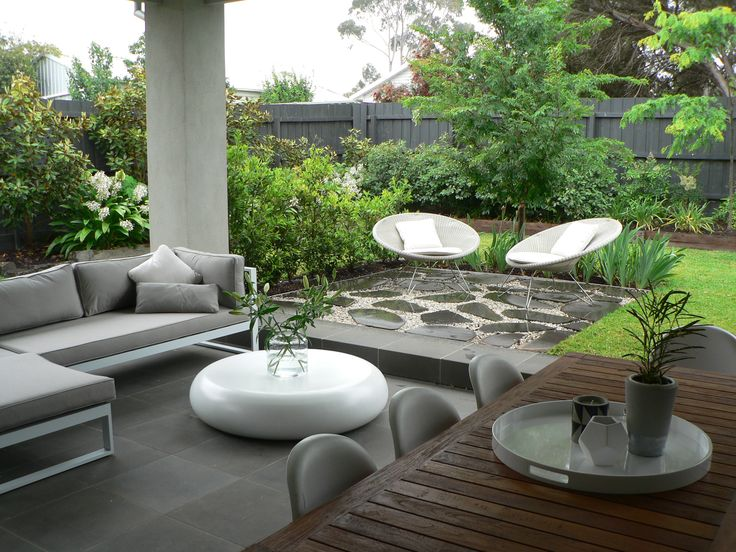 Outdoor room. www.rpgardendesign.com.au