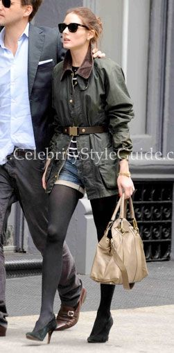 Seen on Celebrity Style Guide: Shopping in Soho,0   Barbour Beaufort Jacket  www.kevinscatalog.com