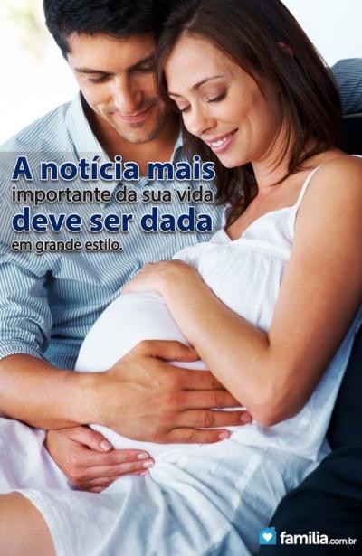 Familia.com.br | Como contar ao seu marido que você está grávida. #Gravidez #Maternidade #Contar #Marido