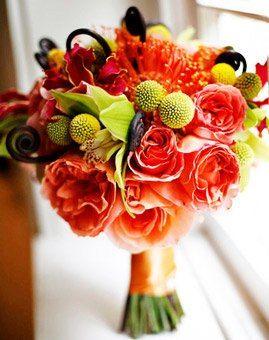 csokor menyasszony esküvő virág