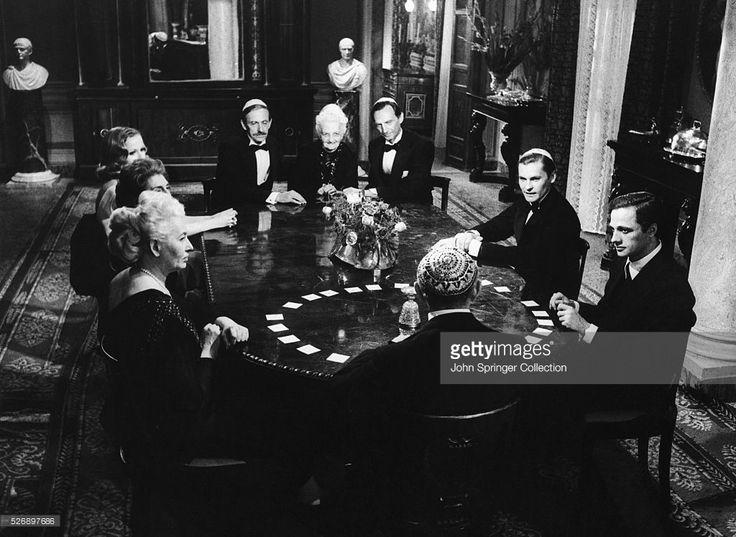 Scene from the 1970 film Il Giardino dei Finzi-Contini, released in English as The Garden of the Finzi-Continis.