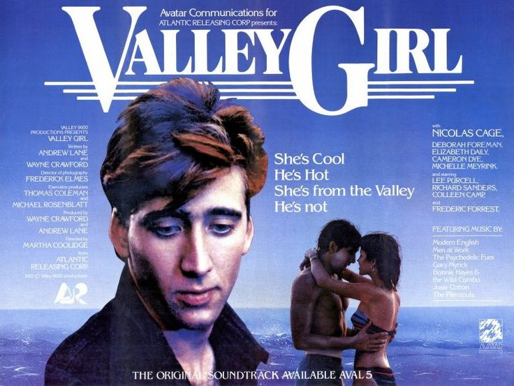 Valley Girl 11x17 Movie Poster (1983)