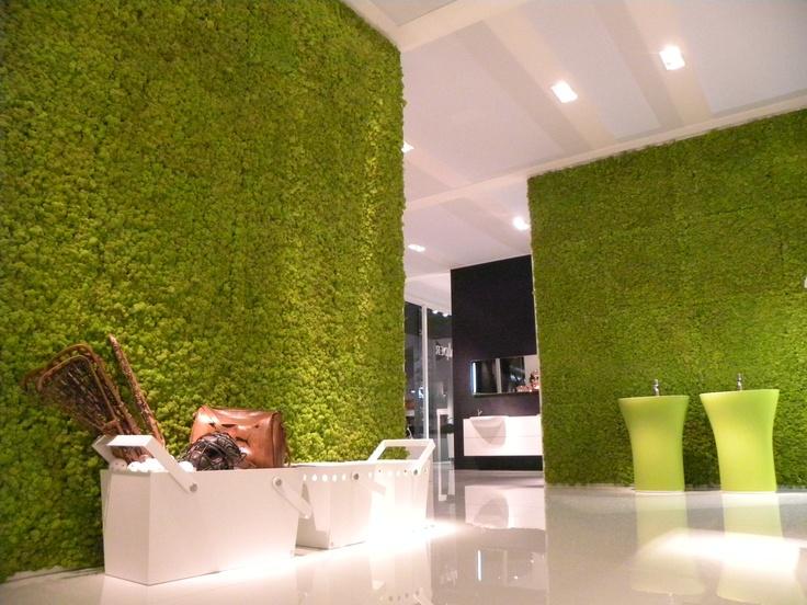 Showroom Falper, CERSAIE 2012, Bologna, Italy  www.themossdesign.com  www.verdeprofilo.com  #verdeprofilo #falper #cersaie #bologna #MOSS #MOSStile #WallProjects