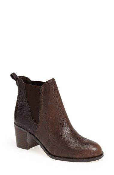 Sam Edelman 'Justin' Leather Bootie (Women) available at #Nordstrom