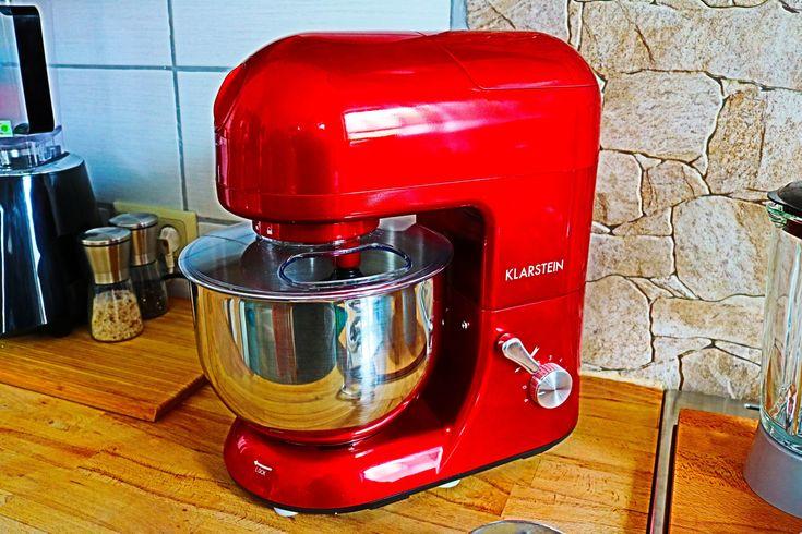 KLARSTEIN Lucia Rossa Küchenmaschine, Mixer und Fleischwolf in - silver crest küchenmaschine
