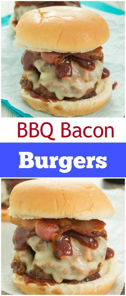Delicious and Mouthwatering BBQ Bacon Burgers