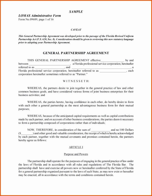 40 Partnership Agreement Template Word In 2020 Words Agreement