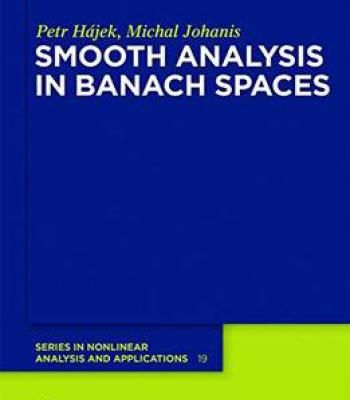 Smooth Analysis In Banach Spaces PDF