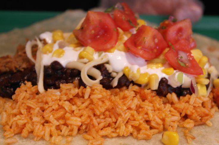 Gringos Burrito  ready to wrap up! :)  Gringos Burrito - feltekerészre készen! :)
