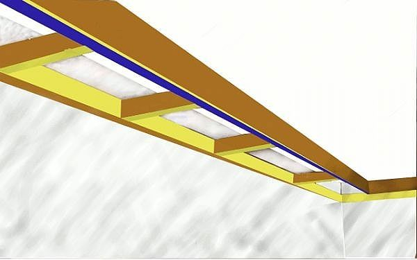 How To Add A Tray Ceiling To An Existing One Ceiling