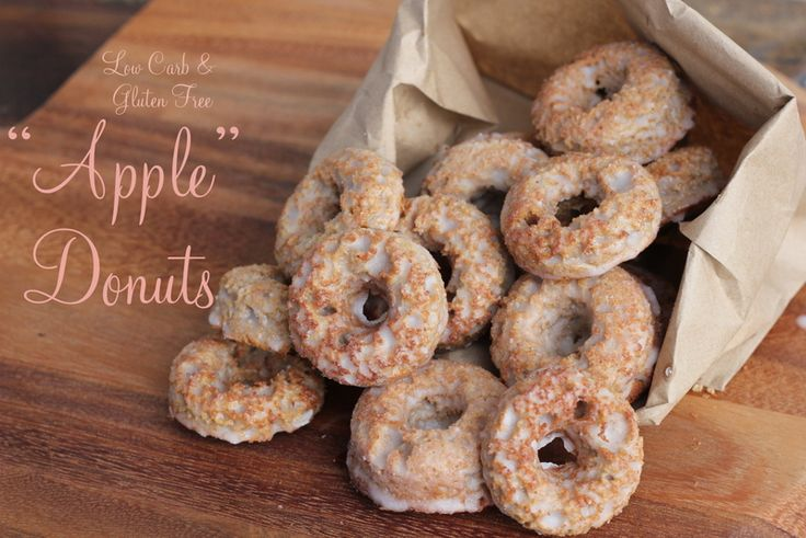 Low Carb Bundt Cake Recipes: Apple Donuts, Low Carb Donuts
