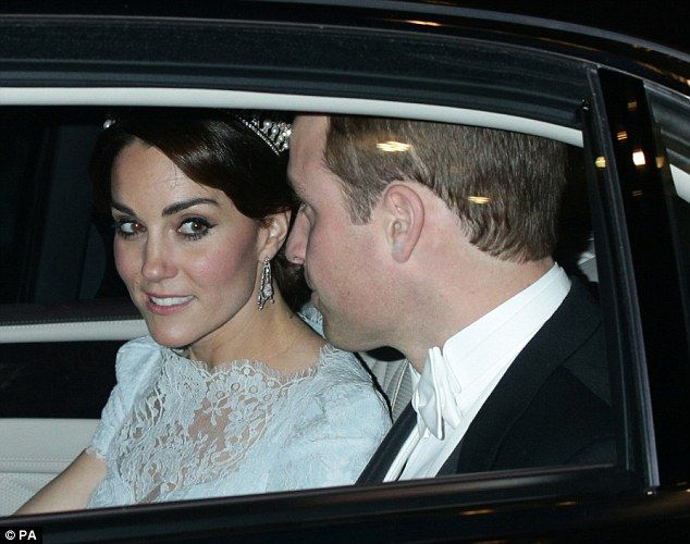 Catherine Duchess of Cambridge paid touching tribute to the famous princess who she will never meet by wearing her tiara