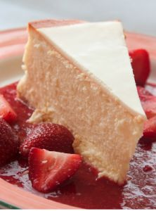 Healthy ricotta cheesecake 160 cal per serve