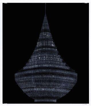 Tint Gallery :: Past exhibitions (Vassiliea Stylianidou, Ulrich Vogl, U. Vogl, Kronleuchter II)