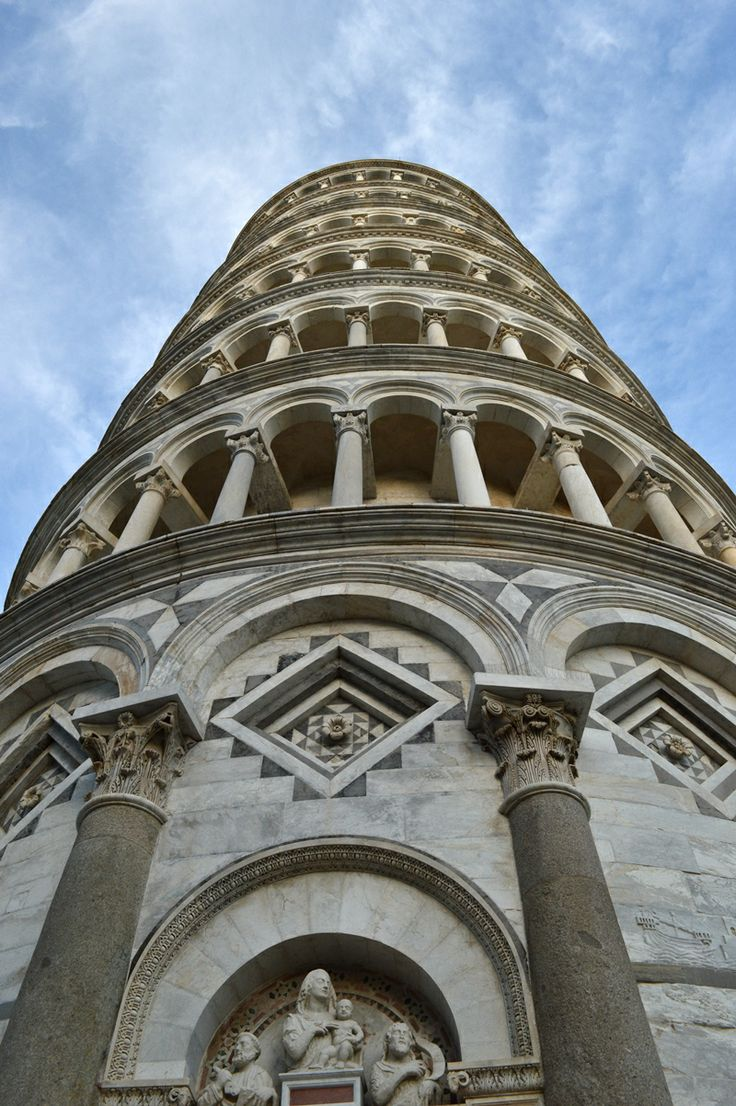 The Leaning Tower of Pisa-one of the most remarkable architectural structures from medieval Europe. #Pisa #Italy