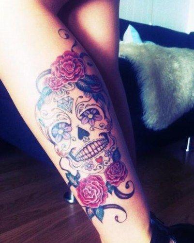 Images Du Forum Tattoos Tattoos Sugar Skull Tattoos Skull Tattoos