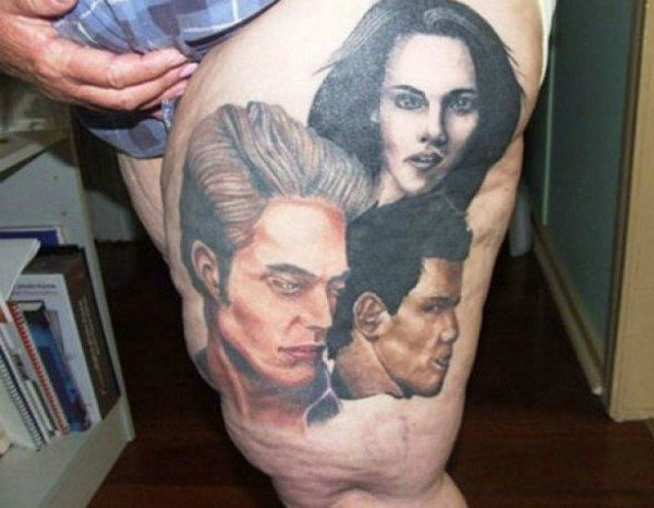 Terrifying Twilight Tattoo