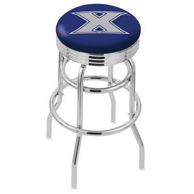"""Holland Bar Stool 30"""" Bar Stool NCAA Team: Xavier"""