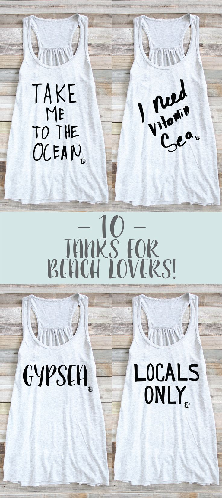 10 Tanks For Beach Lovers! Beach Tank Top | Surf Tank Top