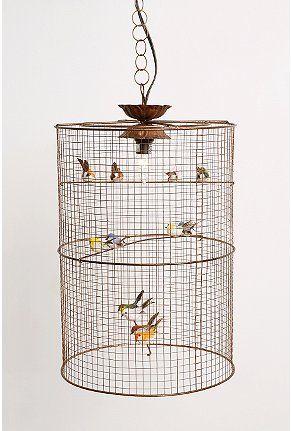 Birdcage Hanging Lamp $98