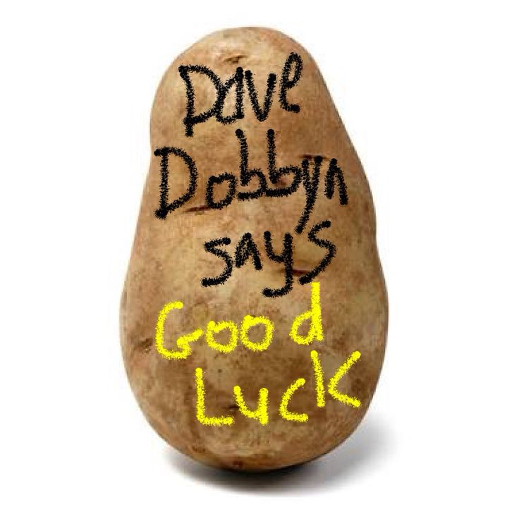 To the #english #french #aussie #irish #rwc2015 team Dave wishes you the best.  #potatomessage.