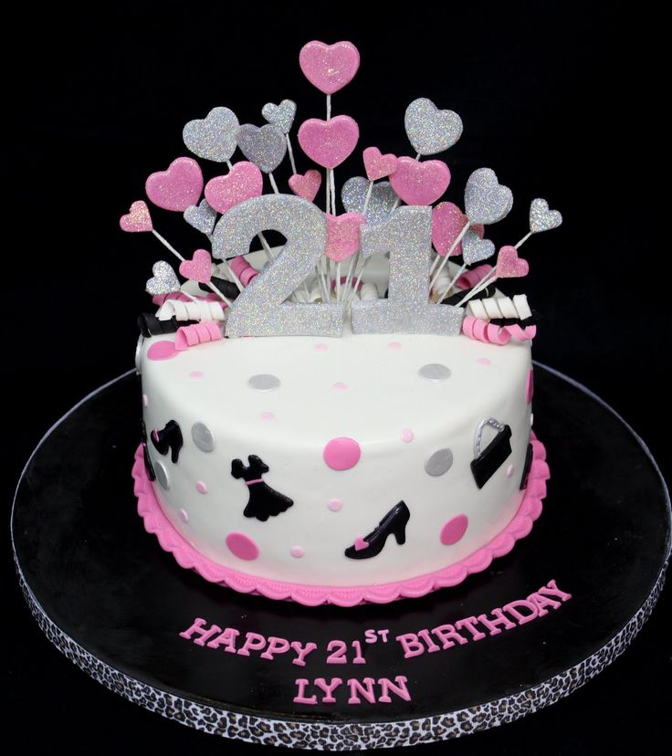 77 Best 21st Birthday Cakes Images On Pinterest 21st