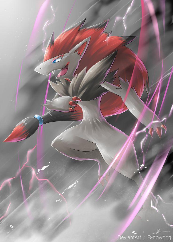 Pokemon : Zoroark by R-nowong.deviantart.com on @DeviantArt
