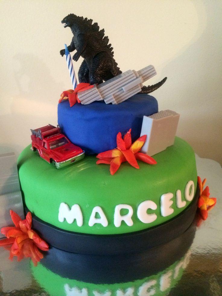 Godzilla Cake Ideas Cake Ideas And Designs