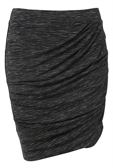 Twist Jersey Skirt