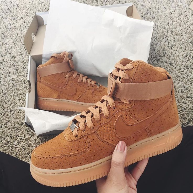 nike air force 1 mid femme orange