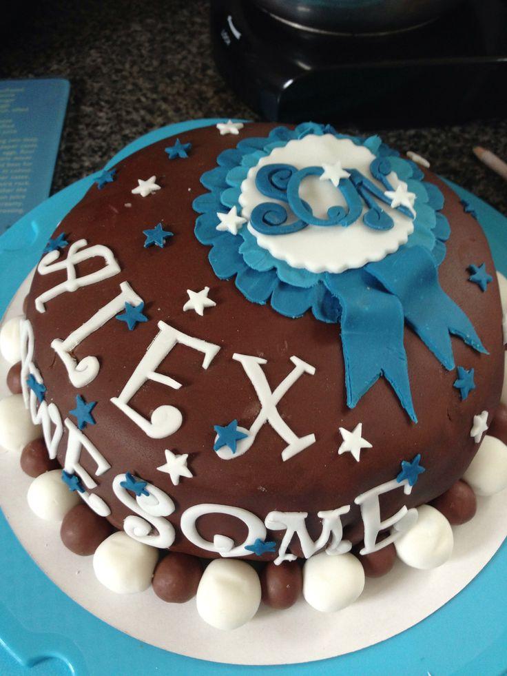 Sons 23rd birthday cake 23 birthday cake, Cake, Desserts