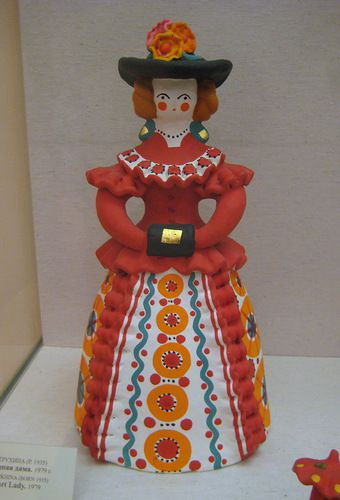 Russian folk art known as dymkovo.