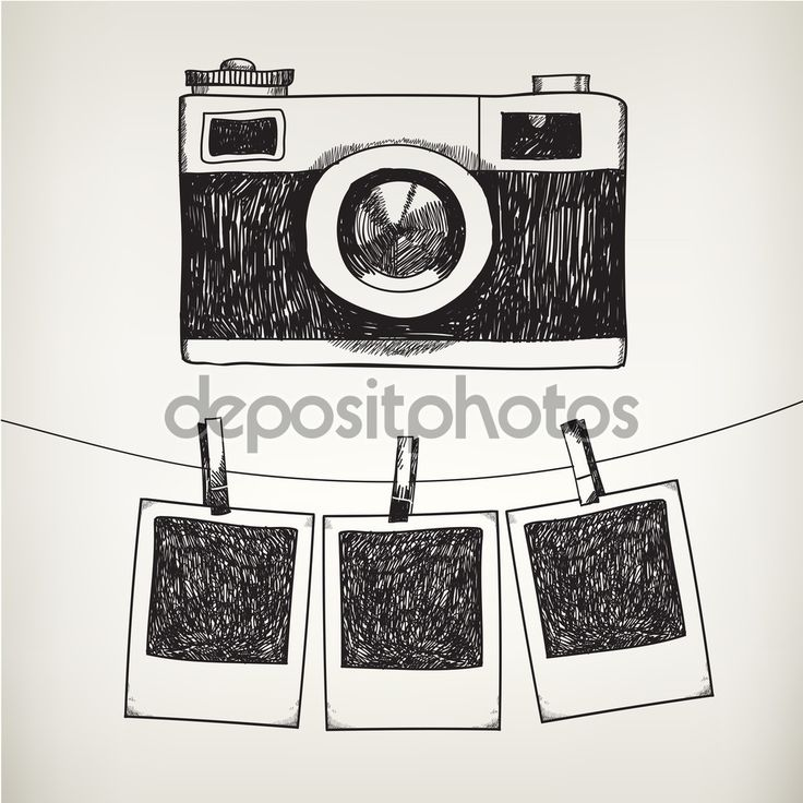 Télécharger - Appareil photo et cadres photo — Illustration #79718626