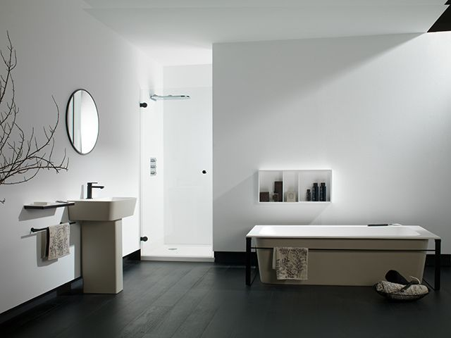 48 best KRION® Bathrooms images on Pinterest | Swarovski