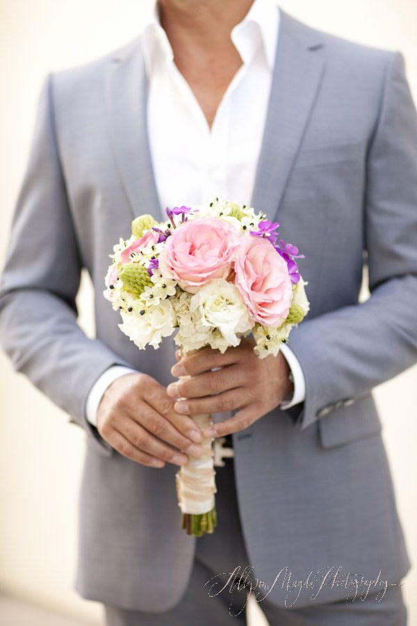 Sweet pastel-coloured bouquet.