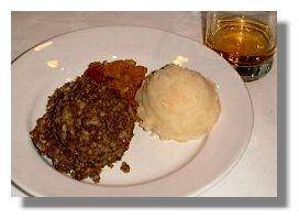 Haggis! Sheep's stomach is gross? Well you eat sausages and hot dogs right? Many of them are wrapped in the intestines or stomach linings of the animal stock concerned, just like Haggis. And yes, they're professionally cleaned before preparation, just like Haggis from Scotland! Enjoy!