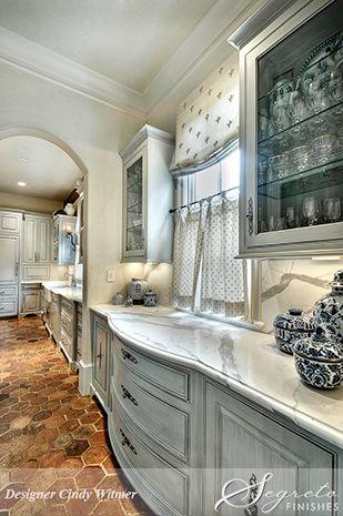 A Classic Home With Classic Finishes!  Segreto Secrets Blog--Cabinet finishes by Segreto!