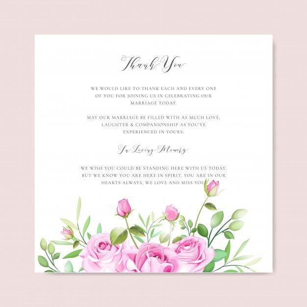 Download Premium Illustration Of Empty Floral Card Frame Design
