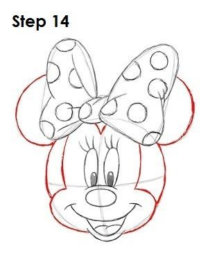 minnie mouse cake template - Google Search