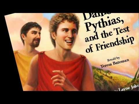the relevance of friendship in the story of damon and pythias On the left is the emblem of the knights of pythias, referring to friendship,  the legend of damon and pythias  explain the story as it unfolded from the.