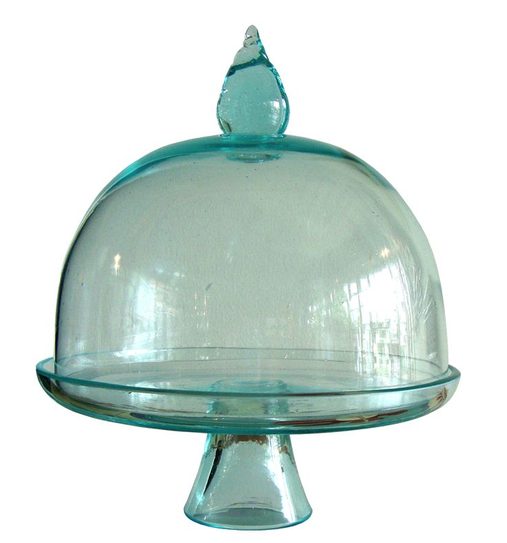Dome Round and Cake Stand are friend forever (green)