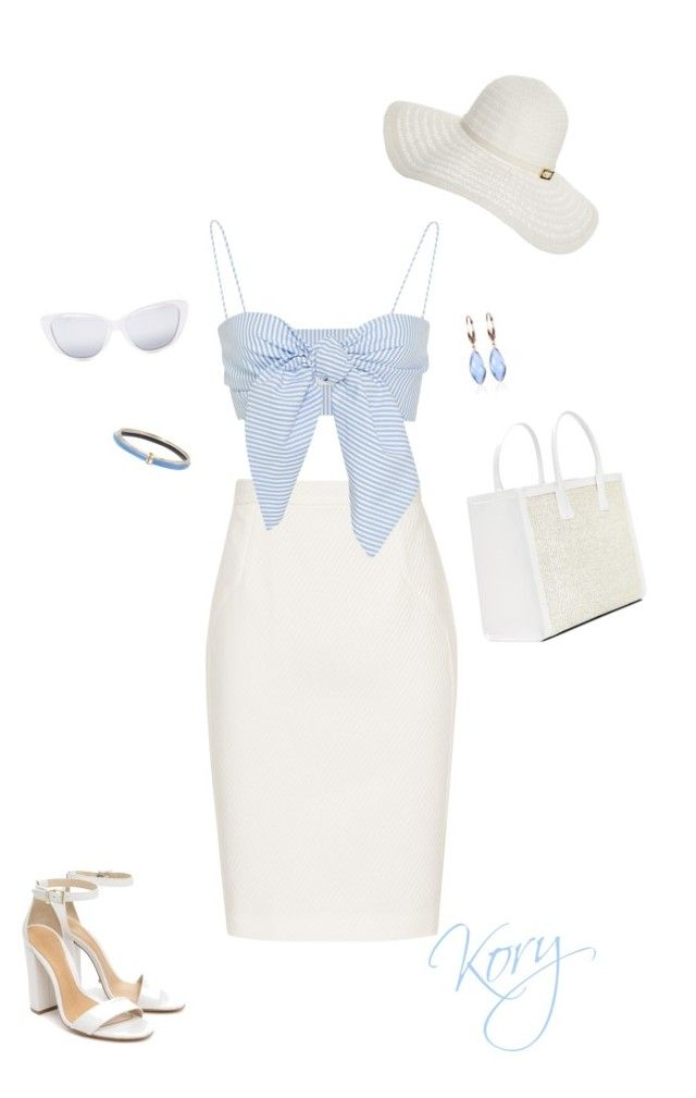 """^"" by cory84 on Polyvore featuring Reiss, Schutz, Elizabeth and James, Melissa Odabash, Alexis Bittar and Belk & Co."