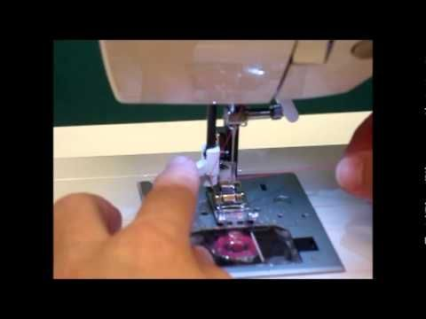 how to use automatic threader on singer sewing machine