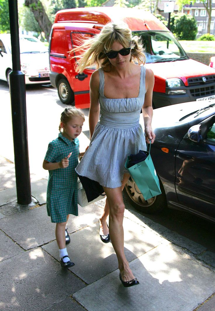 Kate Moss. Daughter Lila Grace