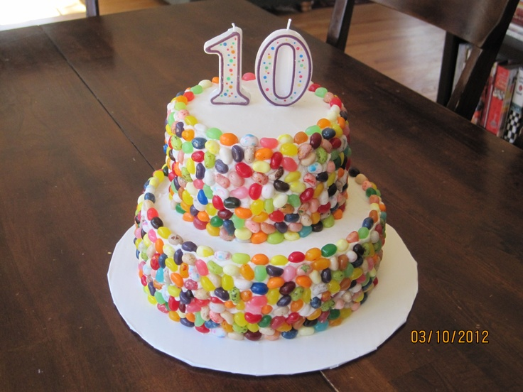 Cake Recipe Jelly Beans: 13 Best Julia's Jelly Bean Birthday Images On Pinterest
